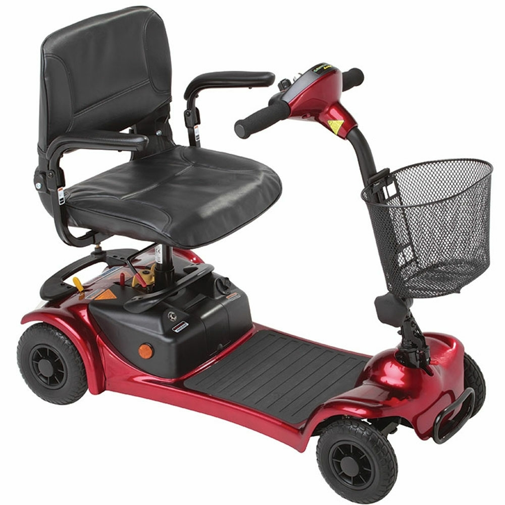 Millercare merlin mobility scooter red for Mobility scooters
