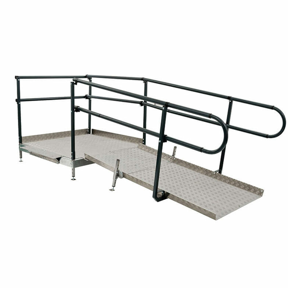 Welcome modular ramp system for Prefab wheelchair ramp