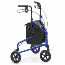 Days Lightweight Aluminium Tri Wheel Walker - Blue  240L