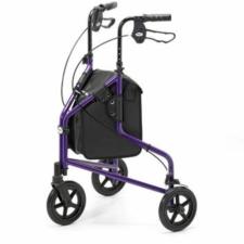 Tri Wheel Walker Lightweight Aluminium - Purple (240L)