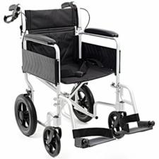 i-Lite Travel Wheelchair - Silver