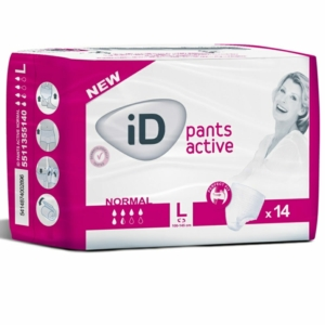 iD  Active Pull Up Incontinence Pants Large