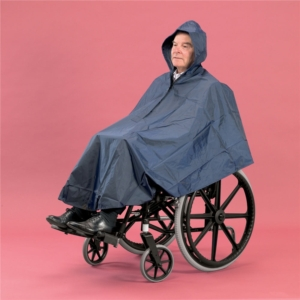 Wheelchair Clothing Poncho Lined