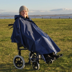 Splash Wheelchair Poncho (Unlined) - U