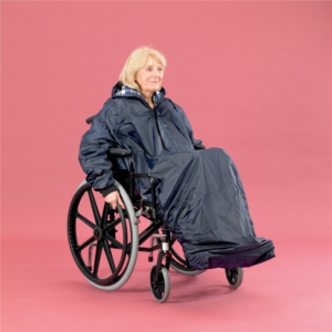 Wheelchair Clothing Mac With Large Sleeves Extra Long