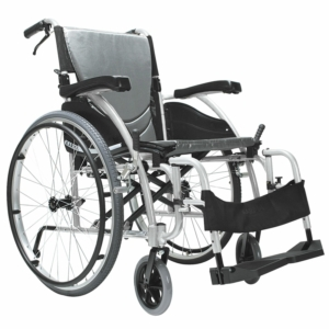 "Ergo 115 Self Propelled Wheelchair Silver 16"" x 17"""
