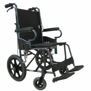 "Dove Transit Wheelchair Black 16"" x 16"""