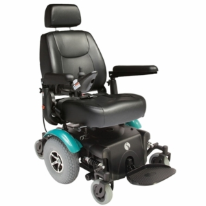 Rascal P327 XL Powerchair - Teal