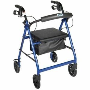 Drive R6 Lightweight Rollator - Blue