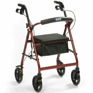 Drive R6 Lightweight Rollator - Red