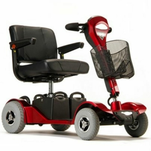 Millercare Albatross Mobility Scooter - Red