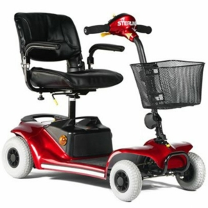 Millercare Falcon Mobility Scooter - Red