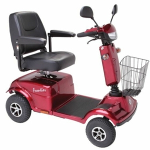 Millercare Kingfisher 2 Mobility Scooter - Red