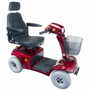Rascal 850 Mobility Scooter - Red