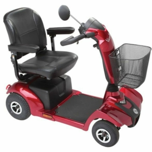 Rascal Vantage Mobility Scooter - Red