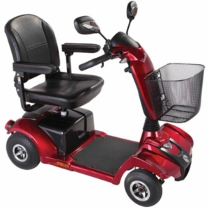 Rascal Vantage X Mobility Scooter - Red