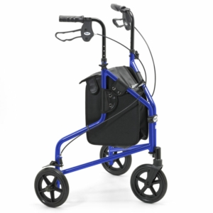 Days Lightweight Aluminium Tri Wheel Walker - Blue  240L