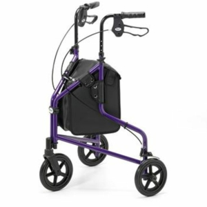 Tri Wheel Walker Lightweight Aluminium - Purple (240L)