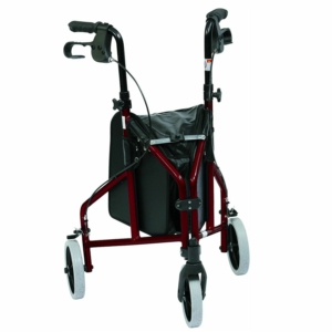 Drive Medical Ultralight Aluminium Triwalker (Red)
