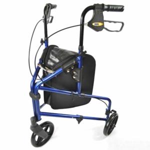 Millercare Lightweight Tri Walker Aluminium