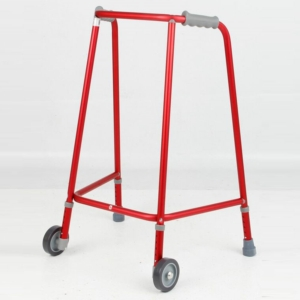 Days Adjustable Height Narrow Walking Zimmer Frame - With Wheels
