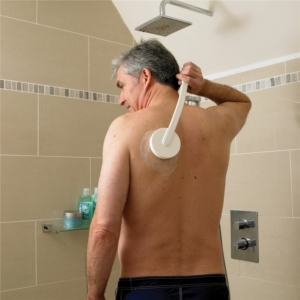 Lotion Applicator With Massaging Head