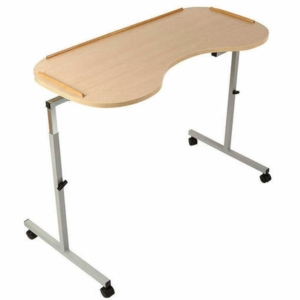 NRS Adjustable Curved Overbed/Chair Table