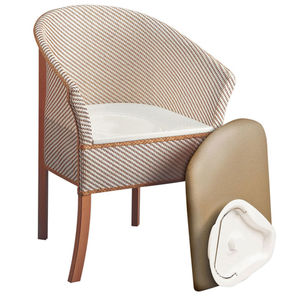 Basketweave Commode Chair - Derby