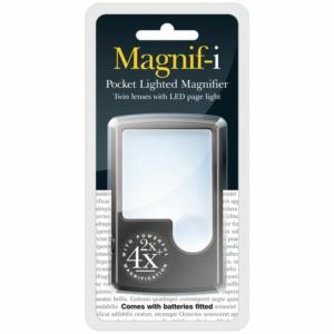 Pocket LED & Full Page Magnifier