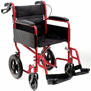 i-Lite Travel Wheelchair - Red