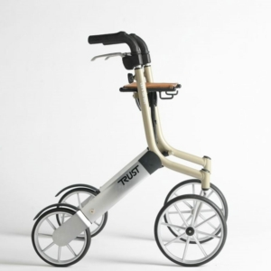 Lets Go Out Rollator - Beige/Siver