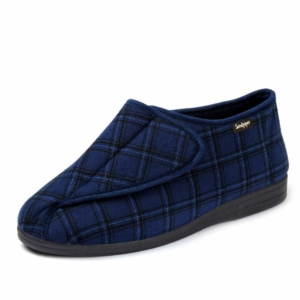 Sandpiper Mens Slippers - Gary Blue