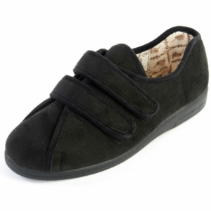 Sandpiper Ladies Slippers - Mandy Black