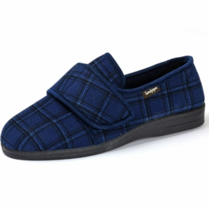 Sandpiper Mens Slippers - Steve Navy