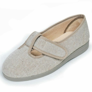 Sandpiper Ladies Slippers - Tracy Beige