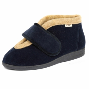 Sandpiper Ladies Slippers - Val Navy
