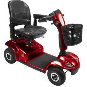 Millercare Eagle Mobility Scooter - Red