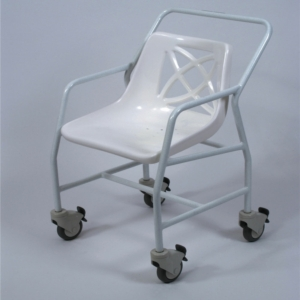 Shower Chair Wheeled Fixed Height