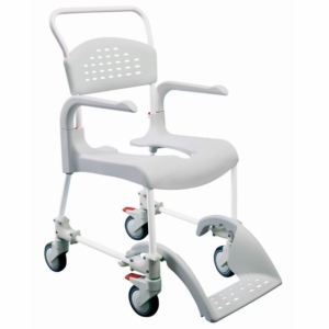 Shower Commode Chair Clean Height Adjustable