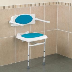 Shower Seat Savanah Seat Optional Backrest Cushion