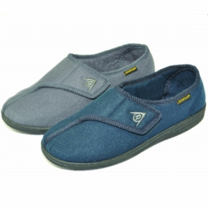 Gents Slipper - Arthur Blue